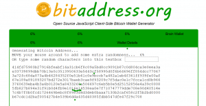 bitadress.org Open Source Landingpage