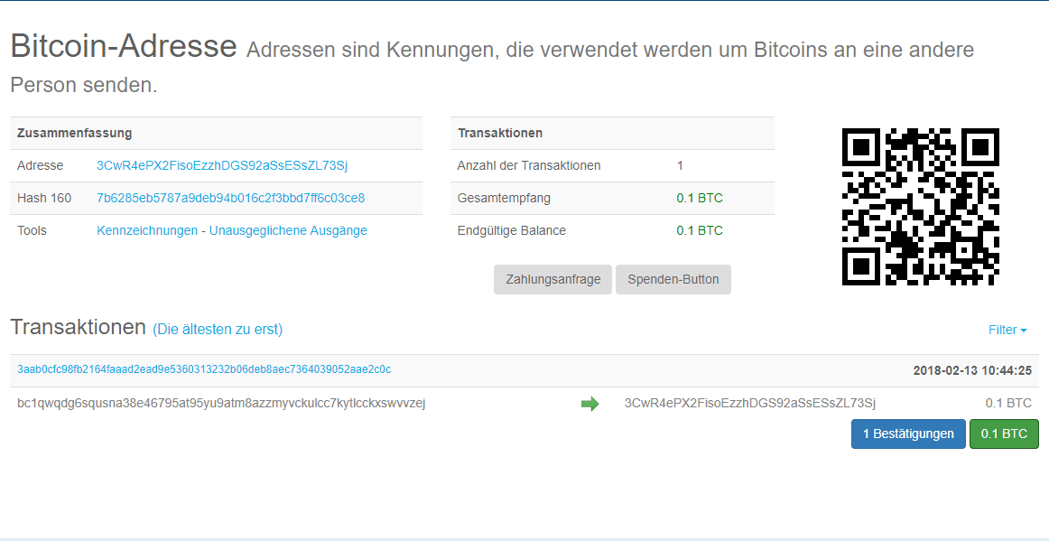 Bitcoin Block-Explorer