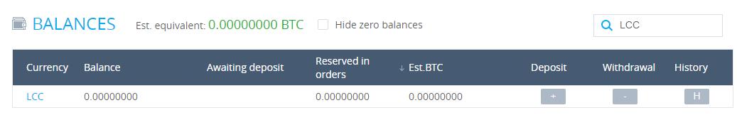 LitecoinCash bei YoBit verkaufen