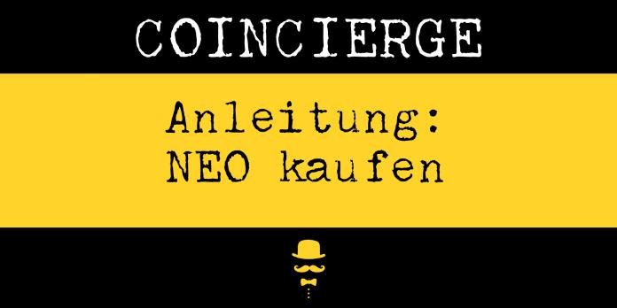 Anleitung Neo kaufen und verkaufen