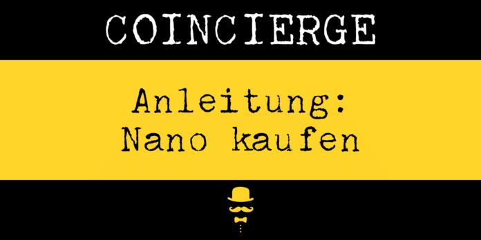 Nano kaufen und verkaufen