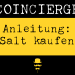 Anleitung SALT kaufen und verkaufen