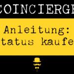 Anleitung Status Network Token kaufen und verkaufen