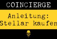 Anleitung: (XLM) Stellar kaufen und verkaufen