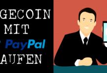 DOGE mit PayPal kaufen