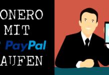 XMR mit PayPal kaufen