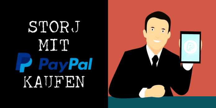 Anleitung: Storj mit PayPal kaufen