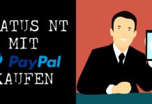 SNT mit PayPal kaufen
