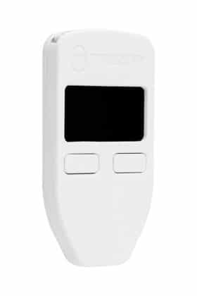 TREZOR ONE in weiß