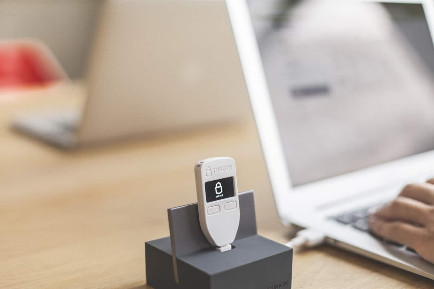 TREZOR One - Open Source Hardware Wallet