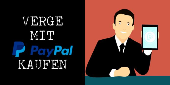 XVG mit PayPal kaufen