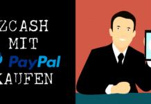 ZEC mit PayPal kaufen