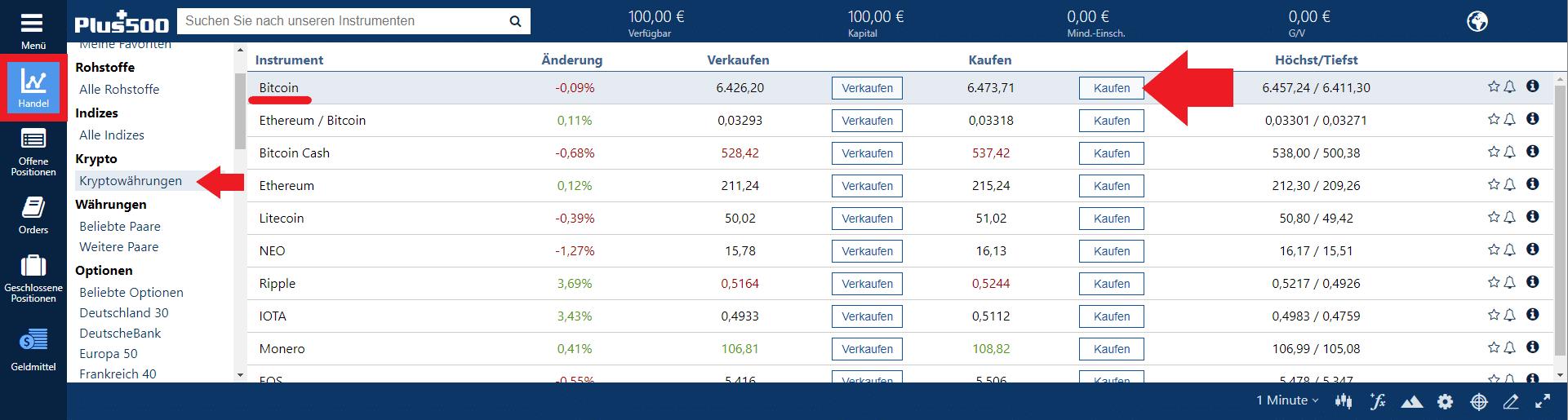 Bitcoin per PayPal kaufen