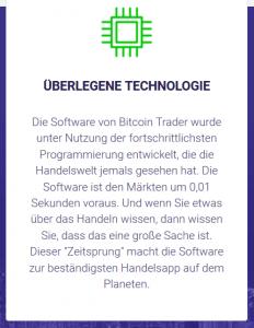Überlegene Technologie mit Bitcoin Trader