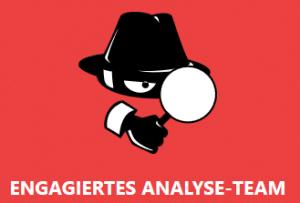 Engagiertes Analyse-Team von The News Spy