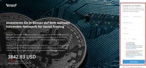 eToro - Investieren Sie in Bitcoin auf dem weltweit führenden Netzwerk für Social-Trading
