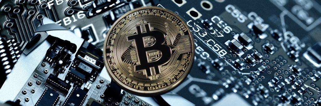 Bitcoin kaufen als Beispielsbild mit einer Bitcoin Münze