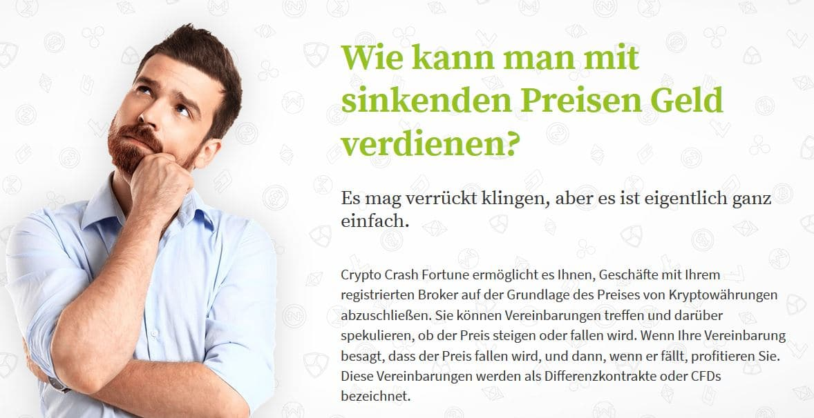 Crypto Crash Fortune Funktionsweise