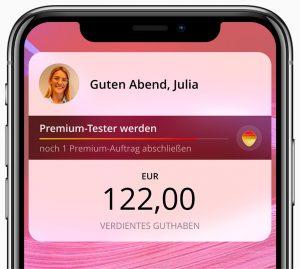 Handy Notification von empfohlen.de