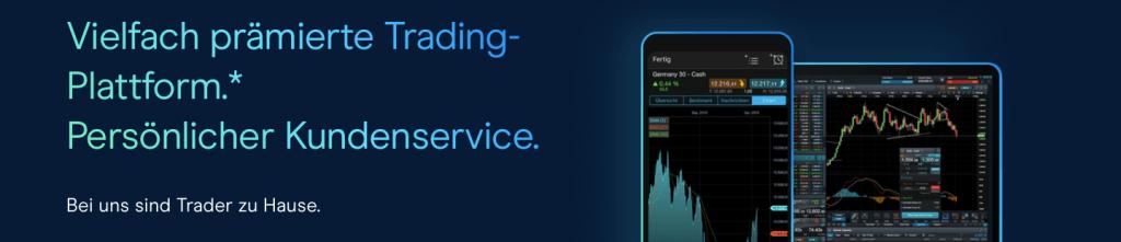 Vielfach prämierte Trading-Plattform mit persönlicher Kundenservice - CMC Markets