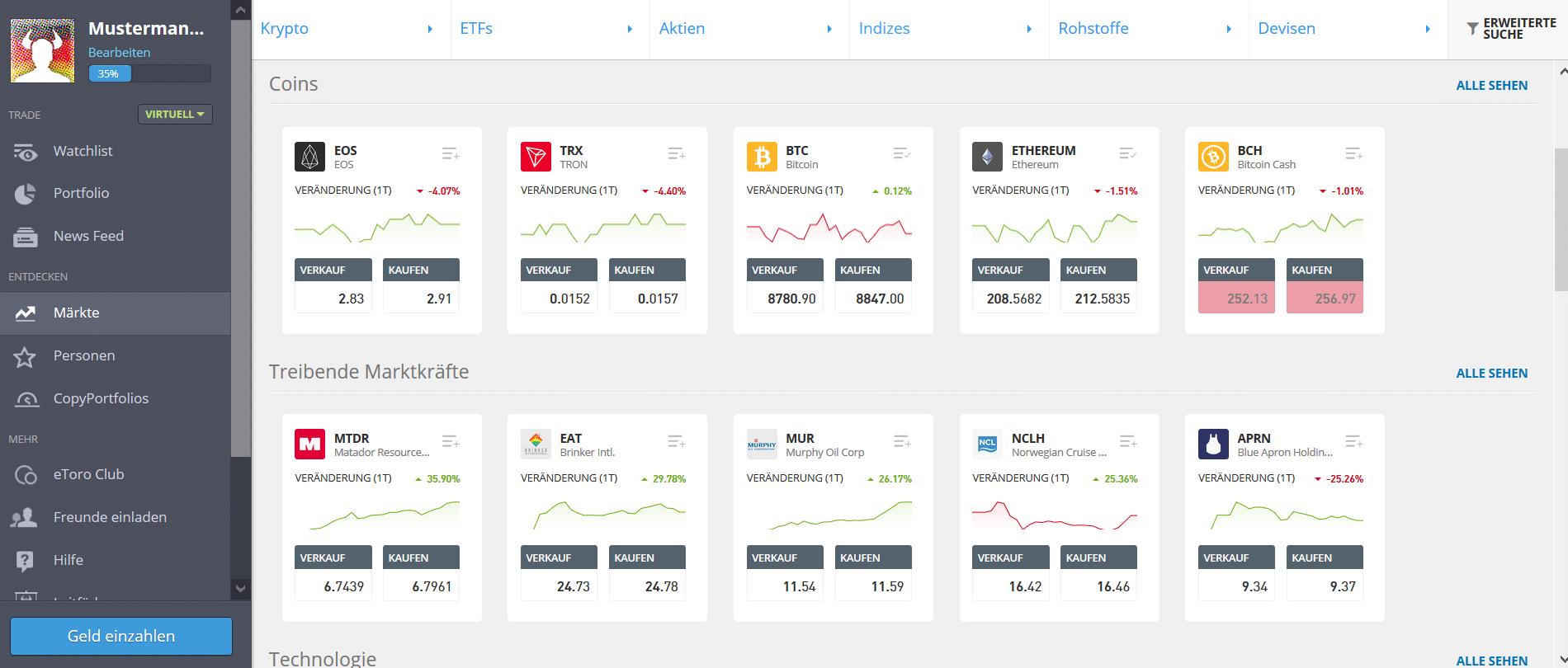 wie kann man in kryptowährung 2021 investieren? bitcoin broker hohe hebelwirkung