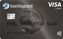 Barclaycard Kreditkarte mit Prämie