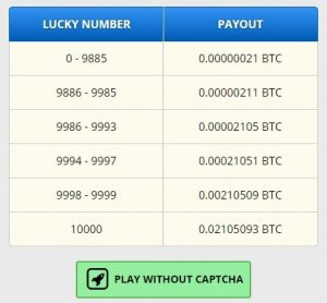 Screenshot - FreeBitcoin - Der Weg gratis Bitcoins zu bekommen