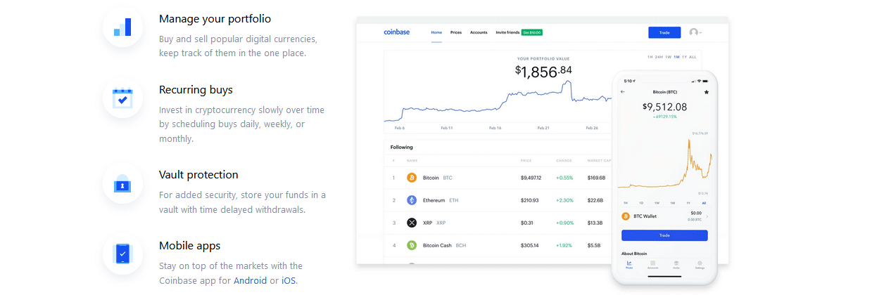 Beste Investment Apps Coinbase