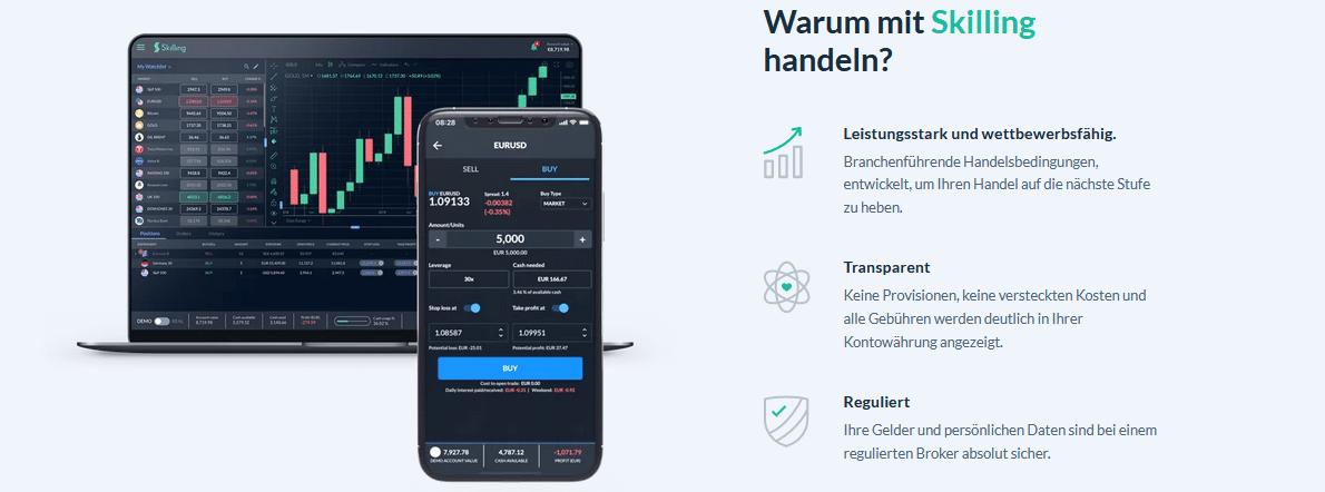 Beste Investment Apps Skilling