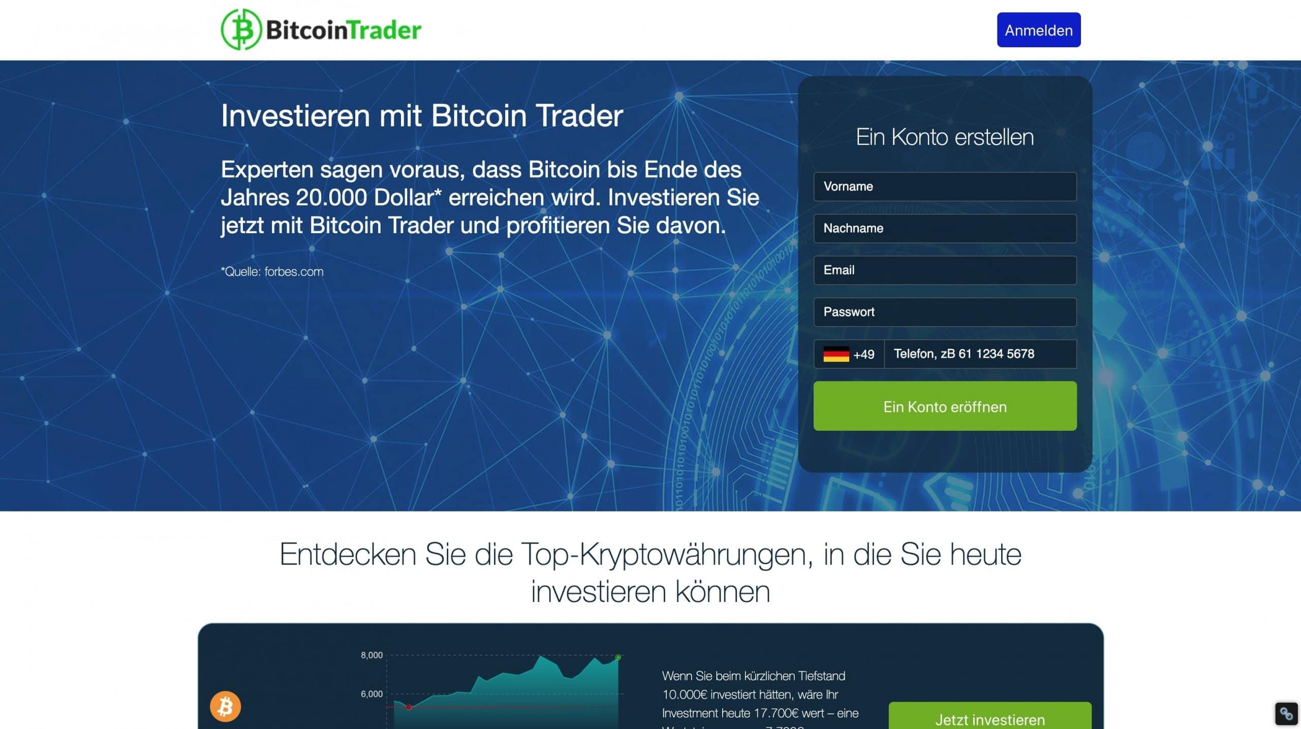 Bitcoin-handel in uns