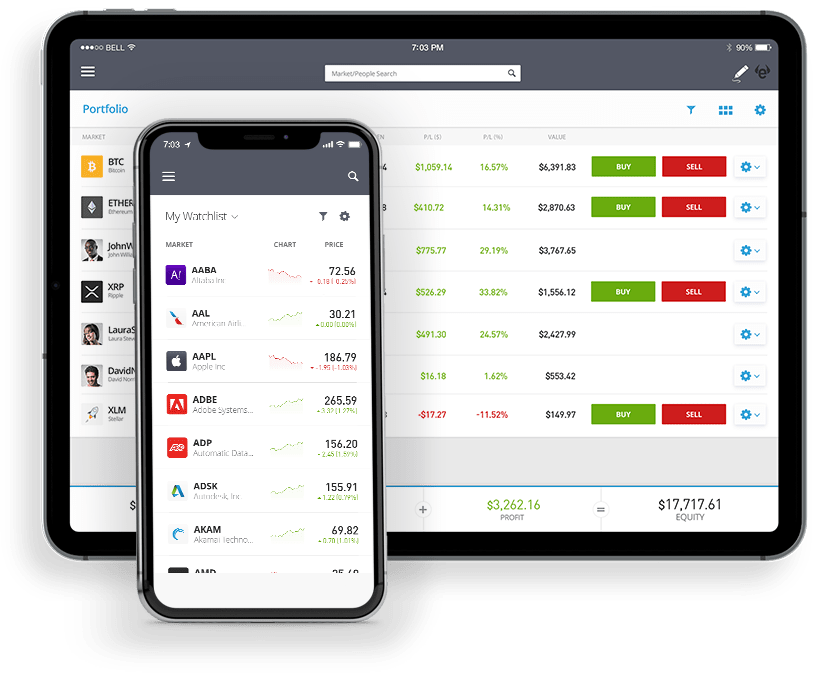 Fonds App - eToro
