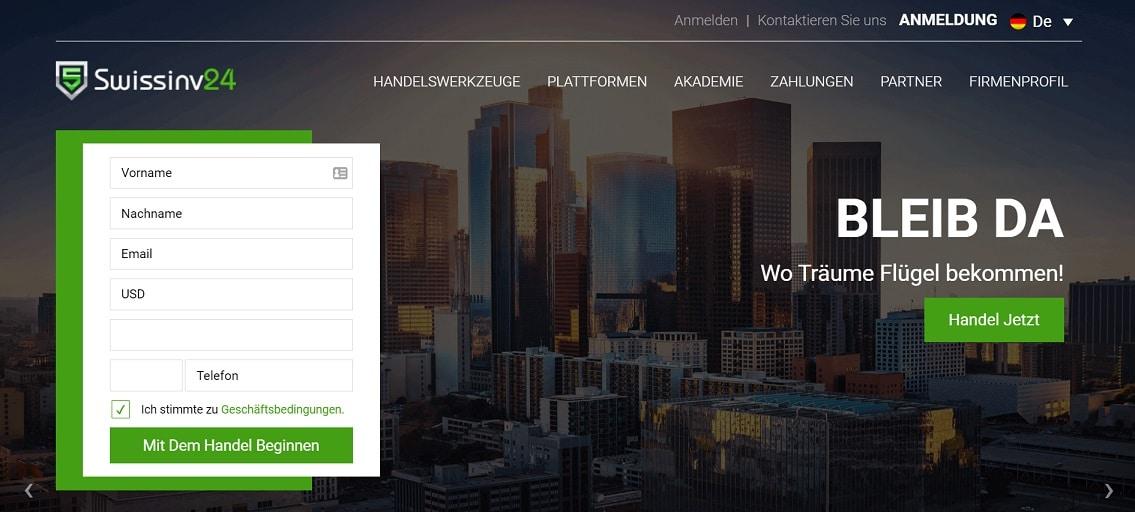 Swissinv24-Startseite