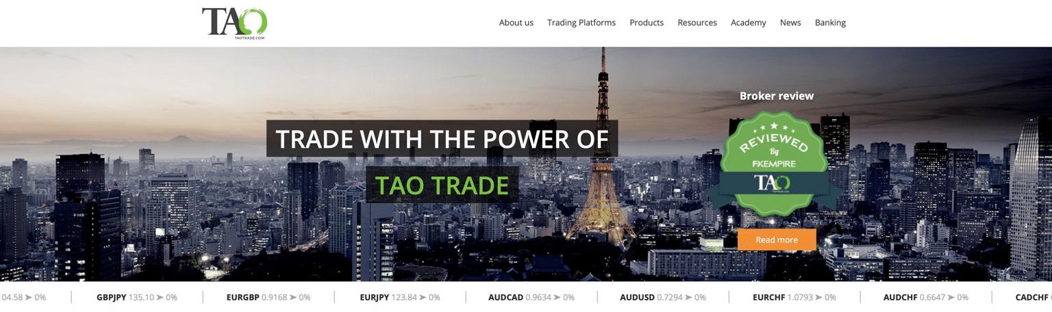 TaoTrade-Startseite