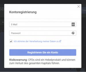 Libertex-Konto-Registrierung-Formular