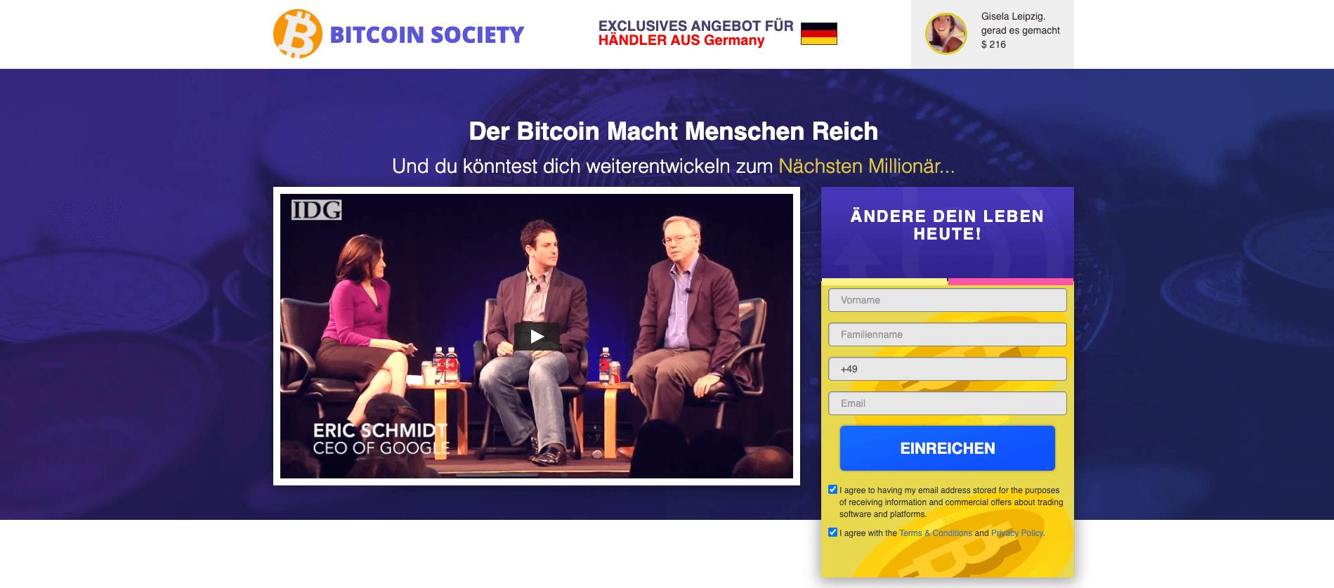 Bitcoin Society Title Image