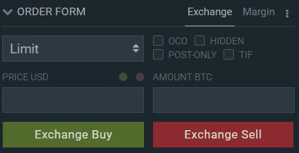 Bitfinex Buy Order