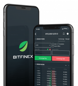 Bitfinex mobile App neu