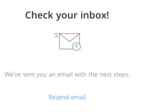 Bitstamp E-Mail