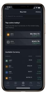 Bittrex App - 1