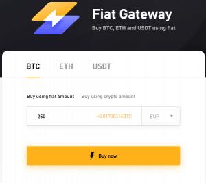 Bitby Einzahlung Fiat Gateway