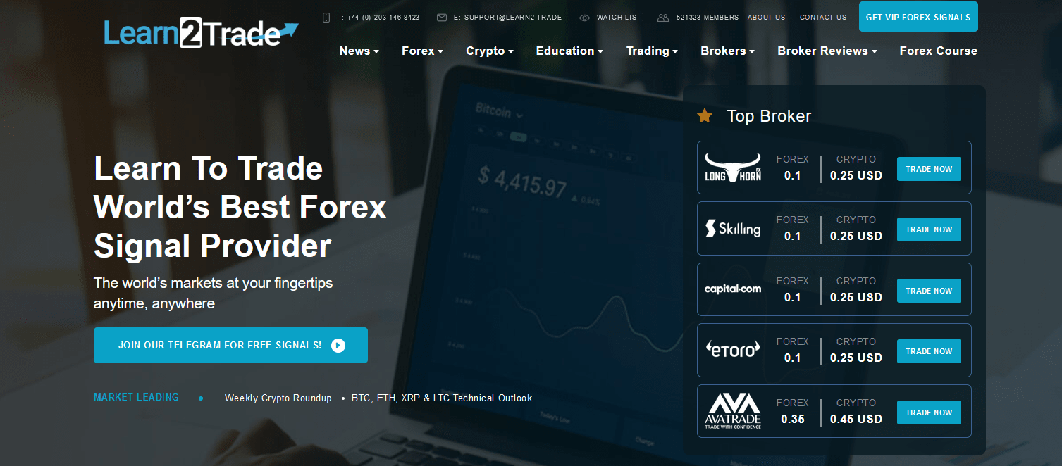 Learn2Trade Test