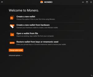 Monero Wallet GUI