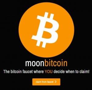 MoonBitcoin Webseite