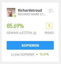 RichardStroud eToro Trader kopieren