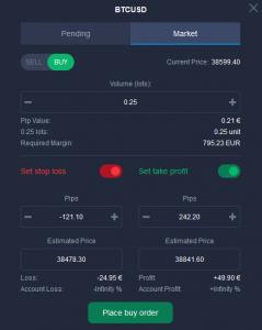 Bitcoin Equaliser Funktion