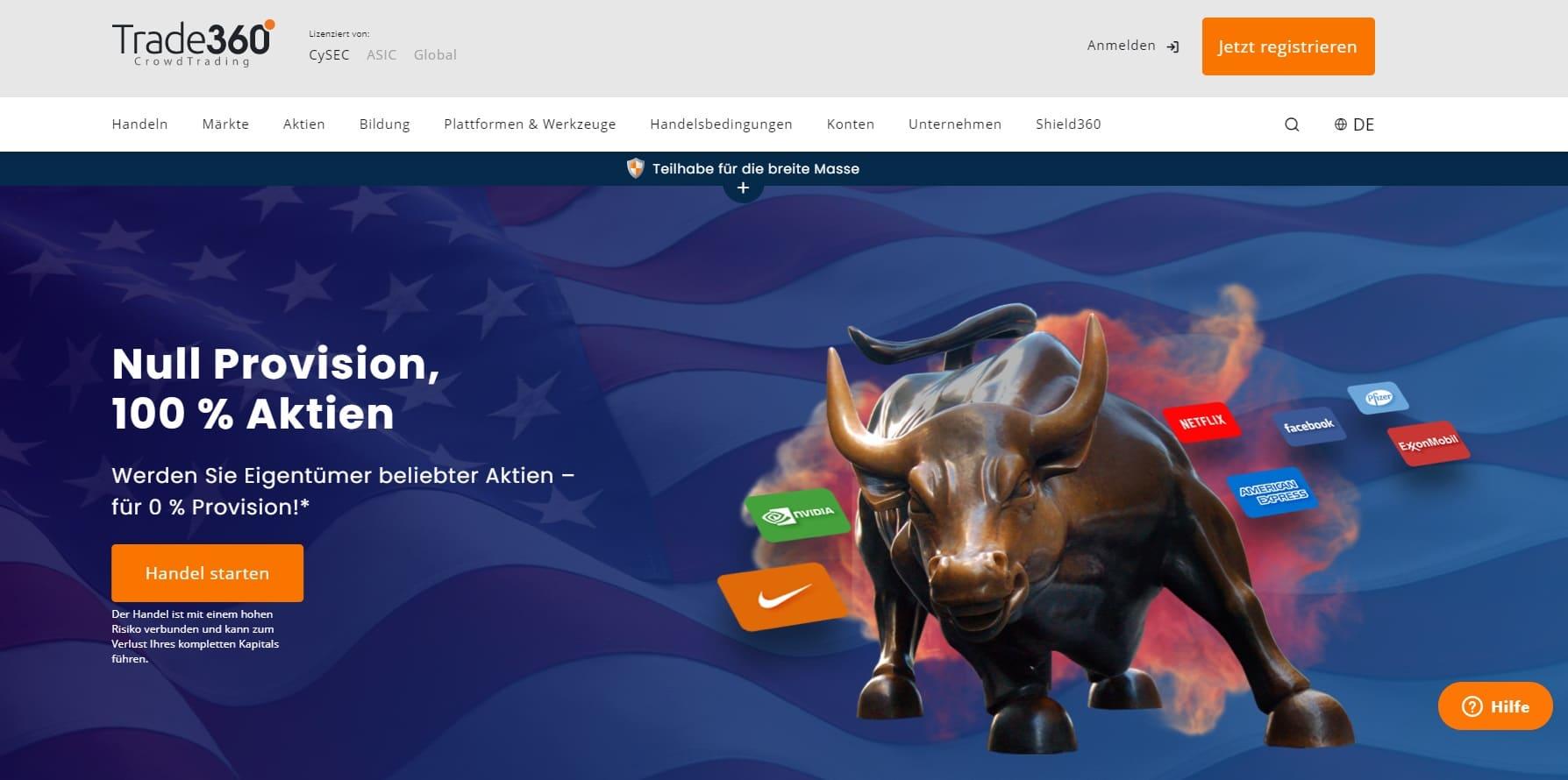 Trade360-Website