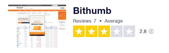 bithumb trustpilot