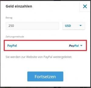 Bitcoin mit Paypal kaufen bei eToro