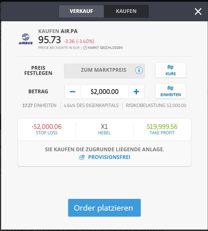 Airbus-Aktie-kaufen