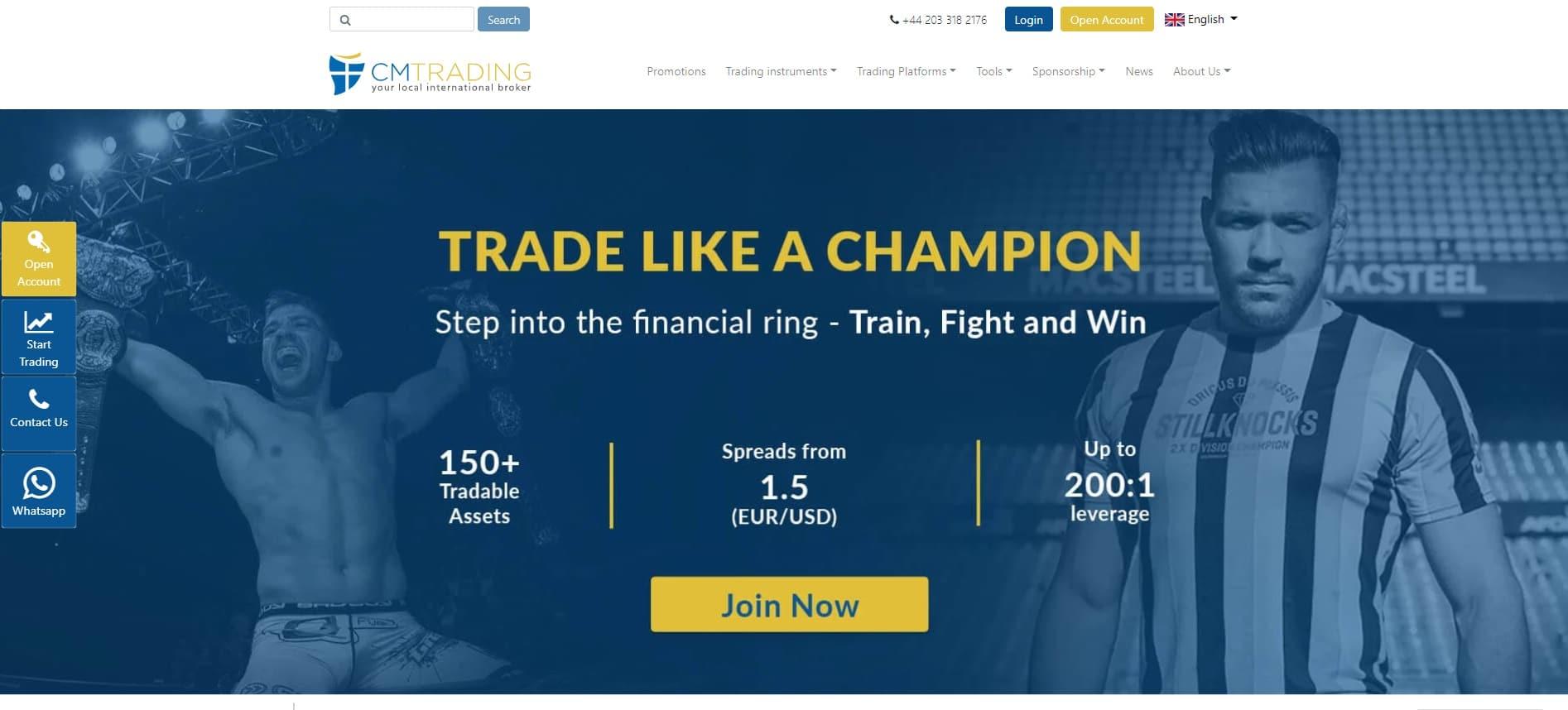 CMTrading-Website